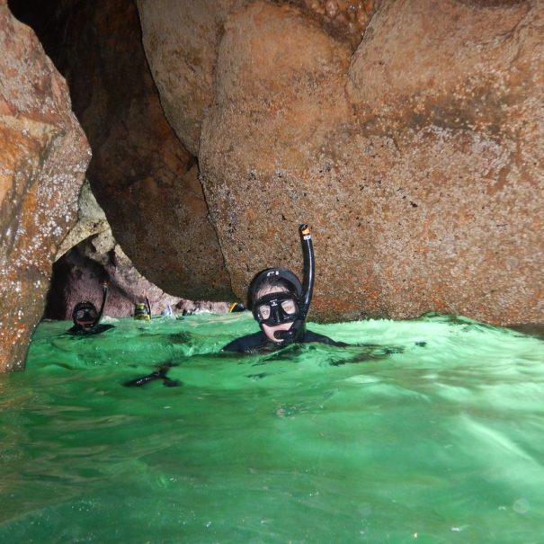 Abseiling & Snorkeling Tour